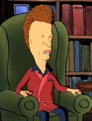 Butthead's avatar.