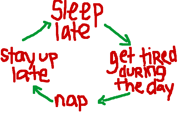 This is your sleep schedule, <strong>amirite?</strong>