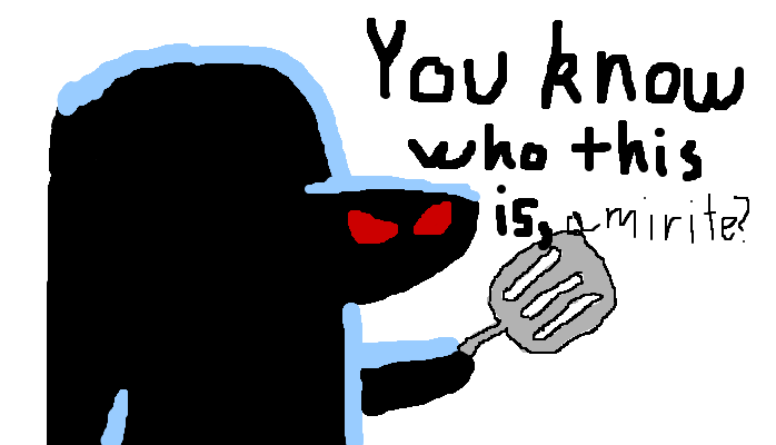 You know who the Hash-Slinging Slasher is, <strong>amirite?</strong>