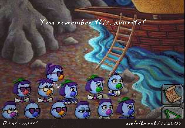 You remember Zoombinis, <strong>amirite?</strong>