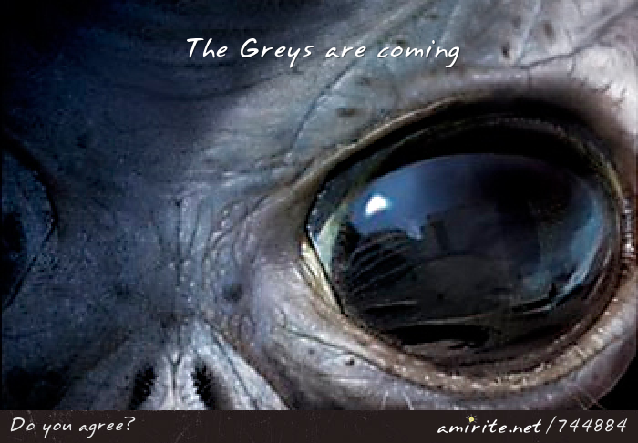 The Greys are coming