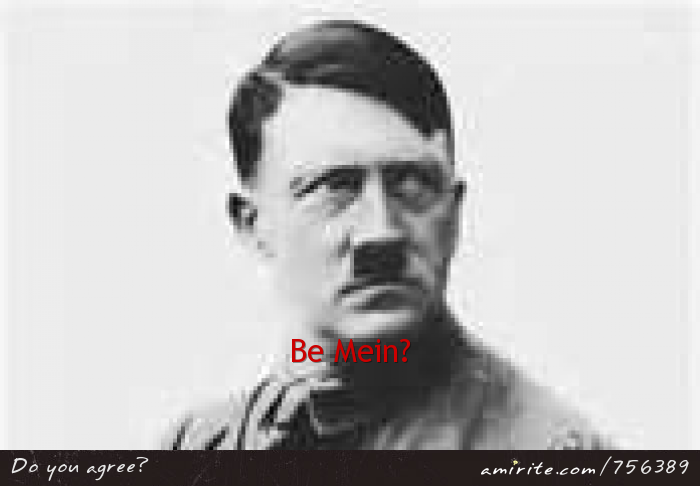 Be mein?