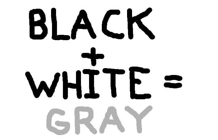 Black and White couples should have Gray children.  <strong>Amirite?</strong>