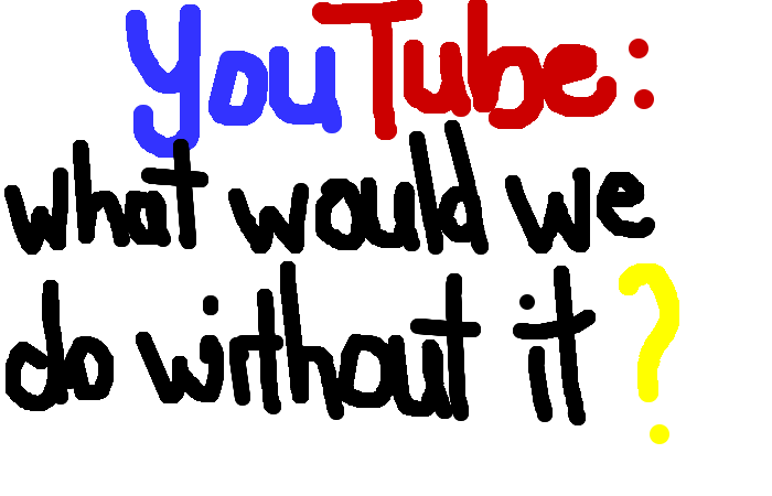 <b>You use YouTube frequently as a tool of education or explanation.</b>