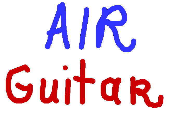 <b>No one plays a better air guitar than you.</b>