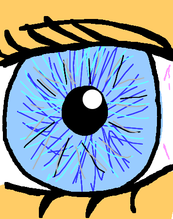 What is the color of your iris (eyes)? :)
