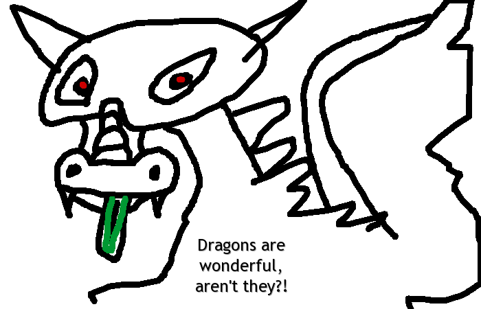 Dragons are wonderful, aren't they?!