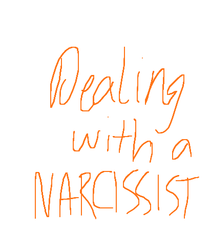 How do you deal with narcissists?