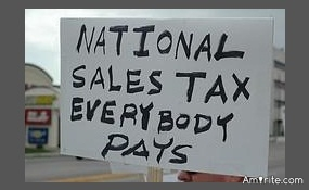 Would you prefer sales tax to income tax?