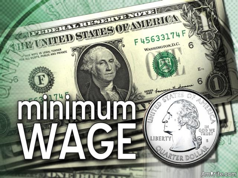 What do you think of the minimum wage law?