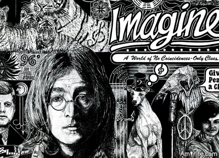 "Could John Lennons' ""Imagine"" ever come true?"