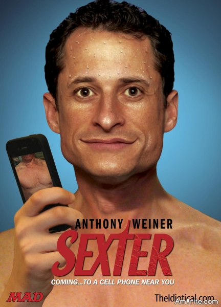 If you are going to be involved in a **** scandal, it sort of helps to have a name like &#34;weiner.&#34;  <strong>Amirite?</strong>