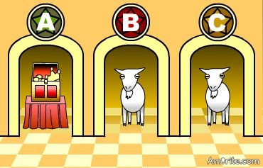 Anyone familiar with the Monty Hall problem?