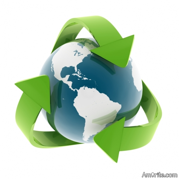 Recycling is a perfect way to keep the earth going, but why don't I see much of this happening?
