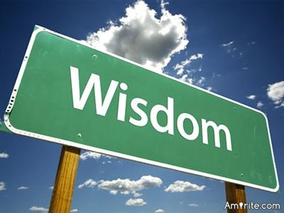 Learning from your own experience is good, but learning also from other's experience is wisdom.