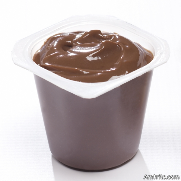 One does not just eat one chocolate pudding cup! There must always be ...