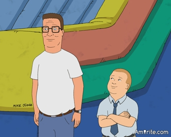 Don't you wish Hank Hill was your dad?