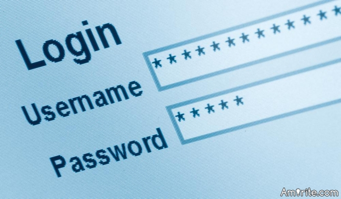 How many of you are using usernames and/or passwords that you've used for years?