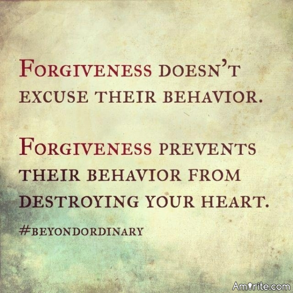 Do you hold grudges or are you forgiving?