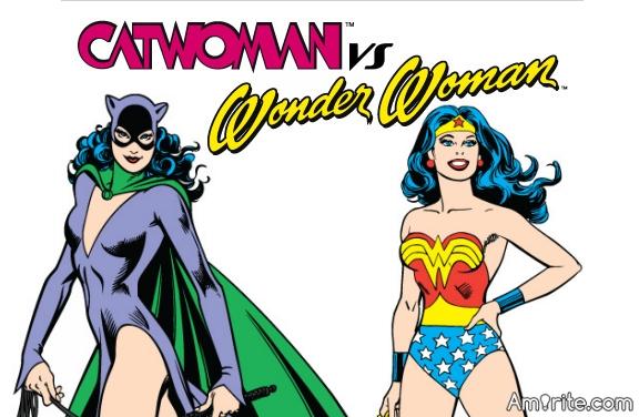 Wonder Woman or Cat Woman?