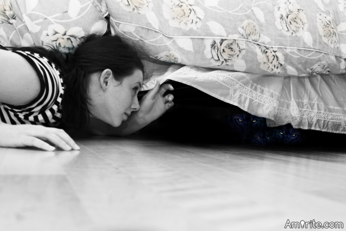 If a kid asked you to check for monsters under the bed for them, would you?