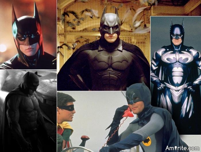 Who portrayed Batman best?