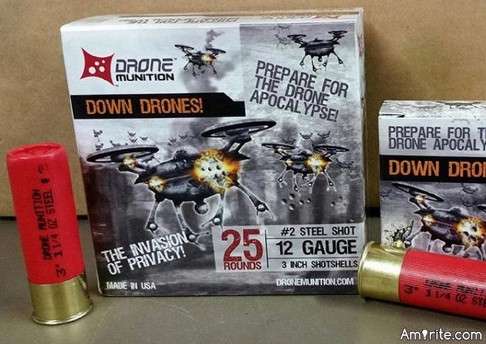 SHOTGUN SHELL,S FOR DRONE,S !    WHAT DO YA THINK AMERICA ?