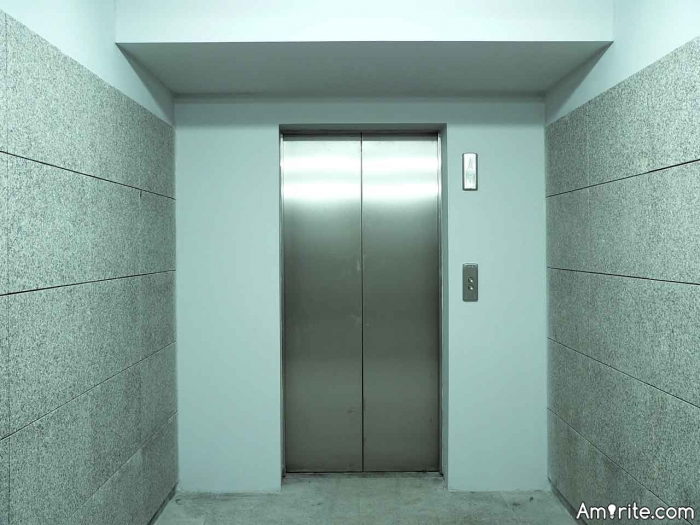 Have you ever been stuck in an elevator, if so how long?