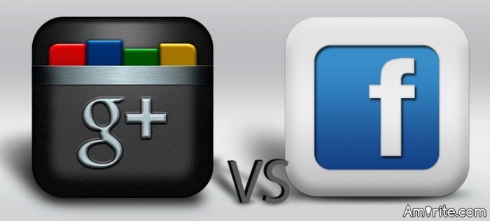 Google+ versus Facebook