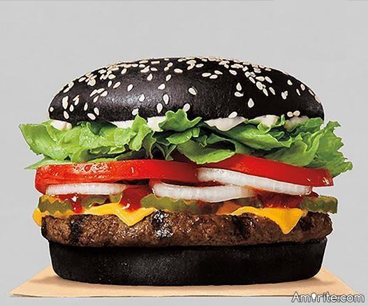 Would you eat a black whopper?