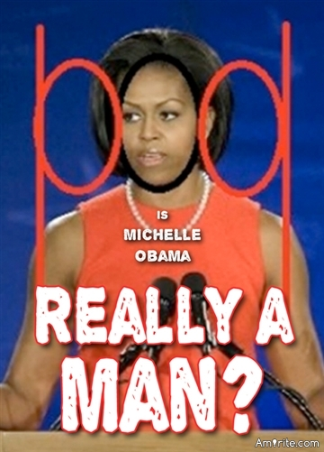 Is Michelle Obama really a man?
