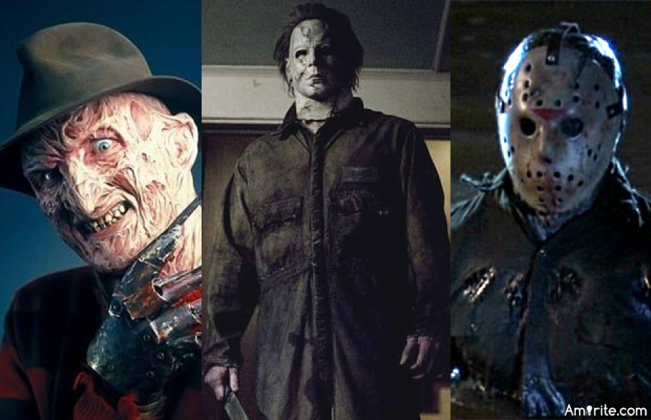 whos the greatest horror movie character of all time