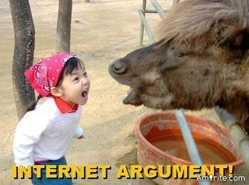 Some people, sadly way too many, will argue for the sake of arguing.