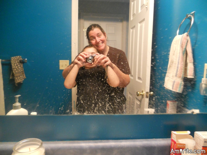 You got toothpaste splatter on your bathroom mirror...<em>amirite</em>?