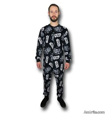 Will you be wearing your new Star Wars pajamas come Christmas morning?