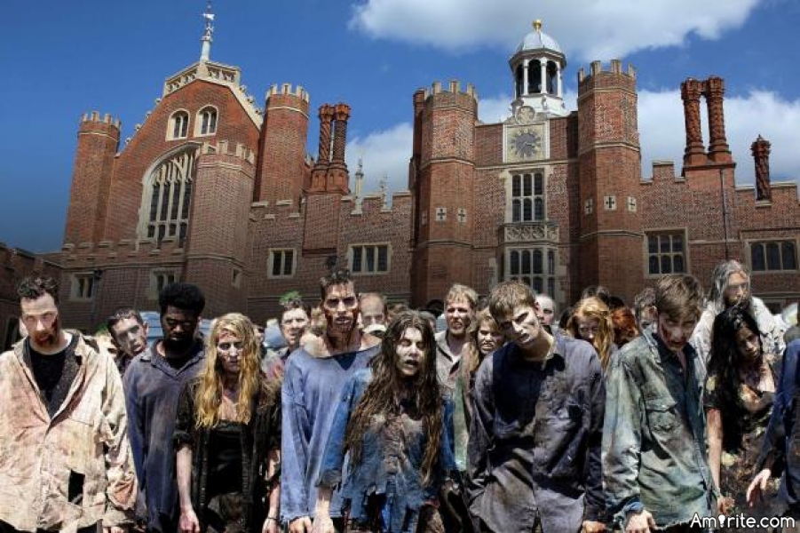 In which of these places would you hide if a zombie apocalypse happened?
