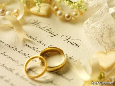 Would you write your own wedding vows or have someone write them for you?