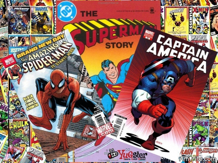 And Spiderman said let there be web. And it was good! Any fans of comic books?