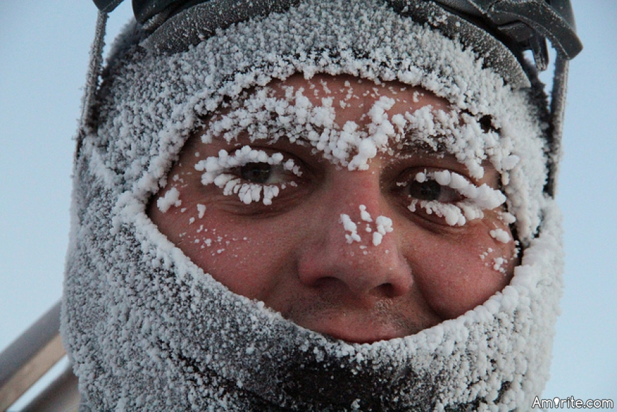During the winter months, which of your extremities gets coldest the quickest?