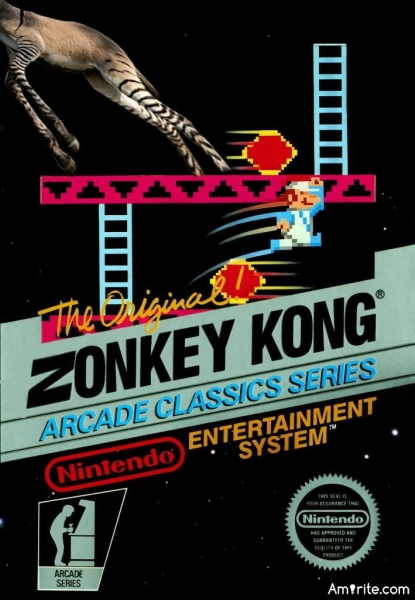 Do you still play Zonkey Kong every now and then?