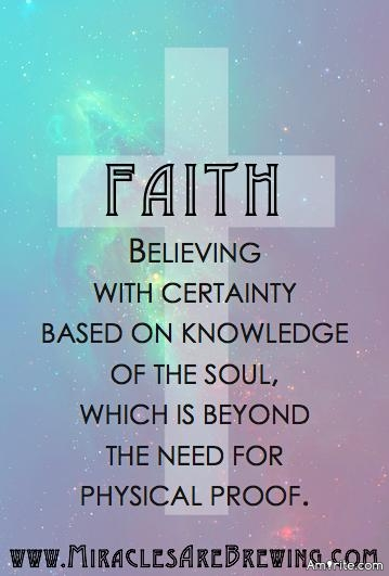 A strong faith is a failing in reason. Because faith requires one set aside truth and fact in exchange for belief in something for which there is no evidence. If one has strong faith then, their perception is sorely lacking in truth. Agree?