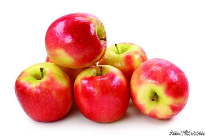 An apple is easier to digest than a chunk of guano.