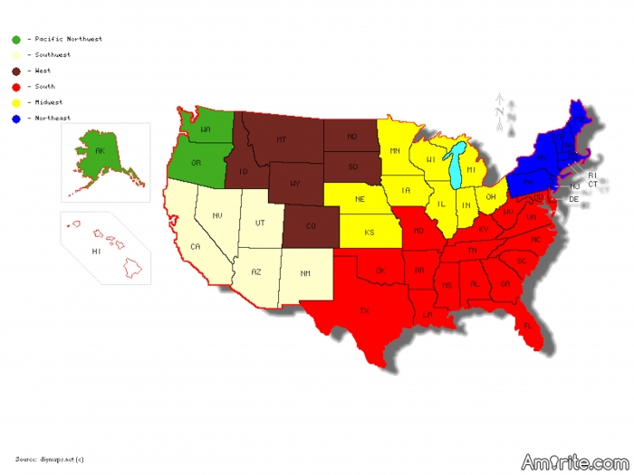 If you're from the US, which region do you live in?