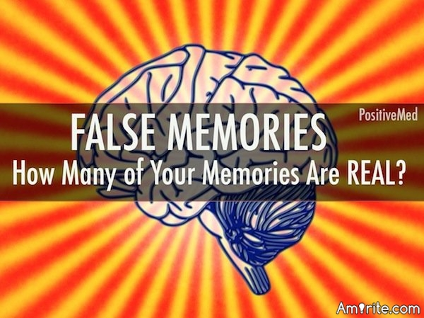 """Do you think """"false memories"""" are just your mind making stuff up, or could it be glimpses into past lives?"""
