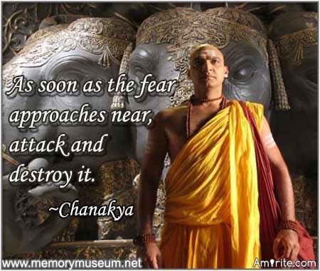Destroy fear before it hit you.............