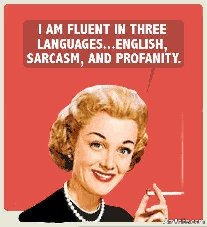 Are you fluent in sarcasm?