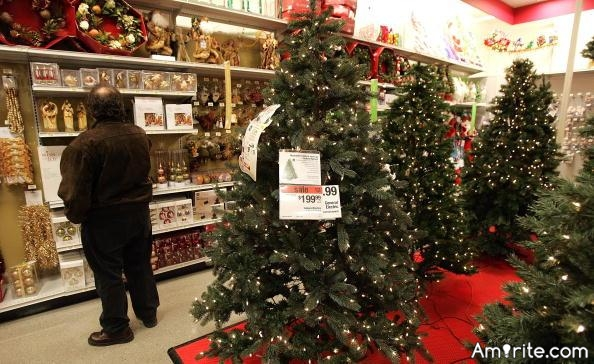 It's the middle of July and the stores are already putting out Christmas merchandise, isn't that a bit early?