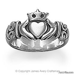 What's your favorite piece of jewelry? Mine is my brass claddagh ring.