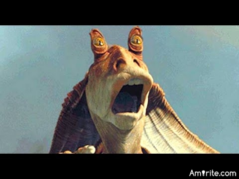 Jar Jar Binks represented everything wrong with the Star Wars movies, <strong>amirite?</strong>