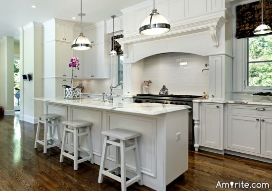 <b>White kitchens, along with the open concept...are really &#34;in&#34; right now... It's a clean, fresh and bright look...</b> <em>Is yours a white kitchen?</em>